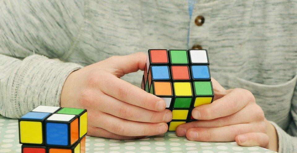 Magic Cube, Patience, Tricky, Hobby, Skill, Play